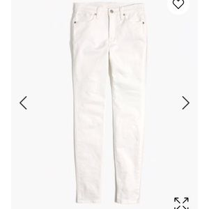 White madewell skinny jeans
